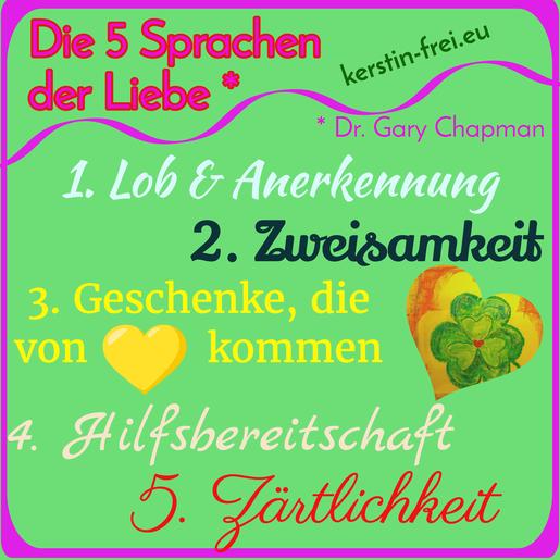 """""""5 Sprachen der Liebe""""  """"Dr. Gary Chapman""""  """"Kommunikation in der Partnerschaft"""" Bestseller"""