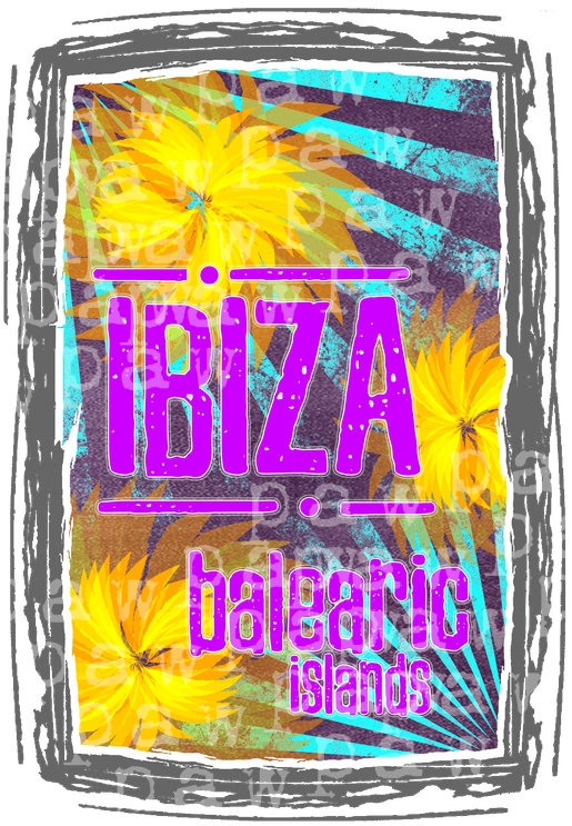 ibiza flower power - Dein Party Shirt für Ibiza 2019! Flower Power, house, trip, pille, coole, reise, flow, ethno, mystisch, Balearen, ibiza, Trip, sommer, sonnenschein, ritual, techno, balearen, trance, stylish, 2019, meer, Spaß, party, fun, urlaub