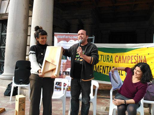Presentació del projecte a l'Ajuntament