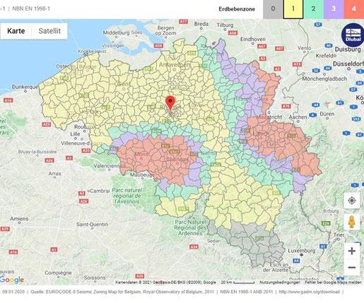 Erdbeben, Aachen, Ostbelgien, Malmedy, Bastogne, atomarer Müll