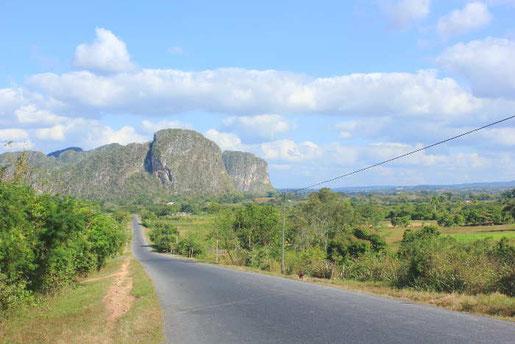 Berge in Vinales auf Kuba