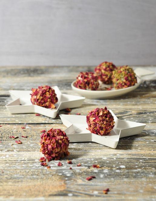 DIY Badekugeln mit Rosenblüten Thermomix