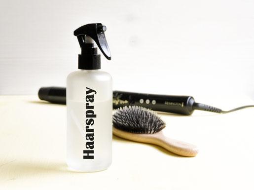Haarspray selbst gemacht DIY