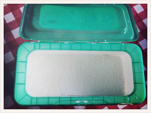 Waschpulver selber machen, Waschpulver selbst machen, Waschpulver Thermomix