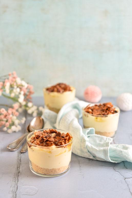 Bienenstich Dessert aus dem Thermomix, vegan möglich