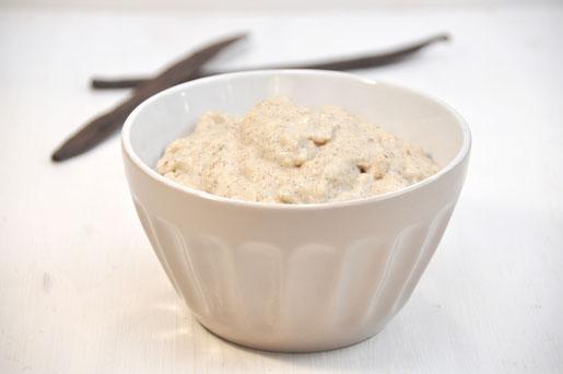 Porridge Thermomix, Haferbrei Thermomix, Porridge Diät, Porridge vegan