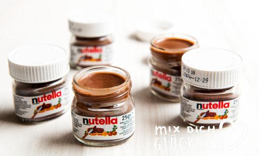 Nutella Lip Gloss Lippenbalsam mit Nutella aus dem Thermomix
