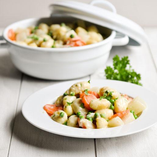 Gnocchi Topf all in one Thermomix vegetarisch oder vegan möglich
