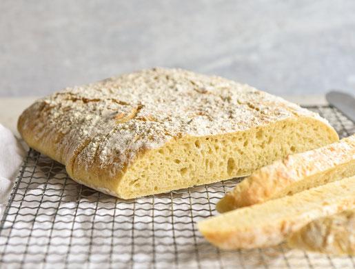 Ciabatta Brot ganz einfach und ohne Aufwand