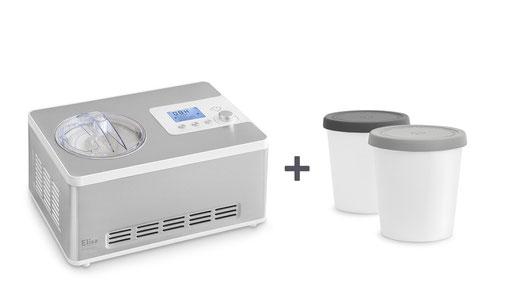 Eismaschine Elisa mit Kompressor Testbericht Erfahrung