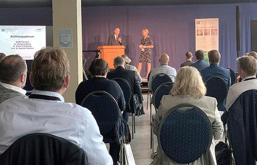 Eröffnung der Konferenz des BVIZ