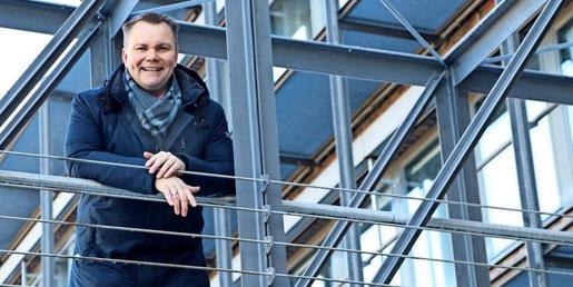 """""""Ich spüre die unbedingte Lust, weil Garbsen meine Heimat ist"""": Björn Tegtmeier aus Schloß Ricklingen will Bürgermeister werden. Quelle: privat"""