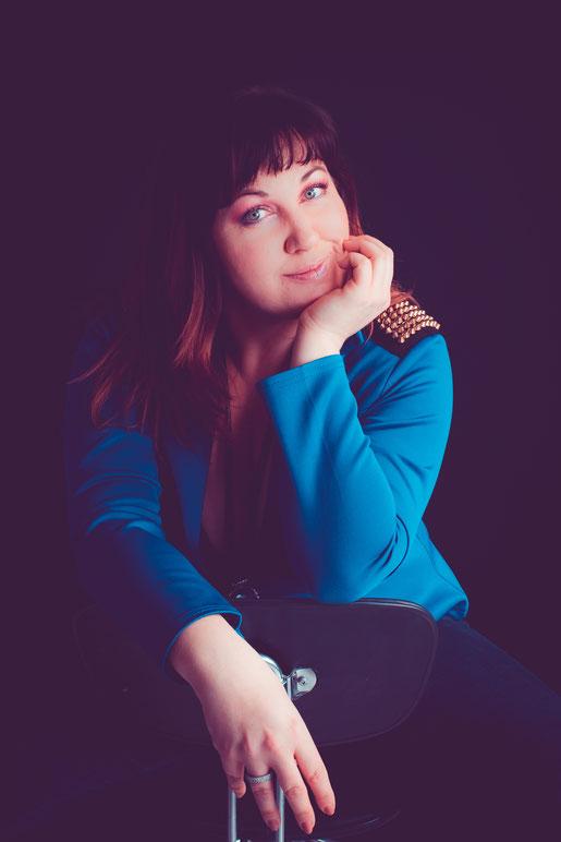 portret shoot van een dame