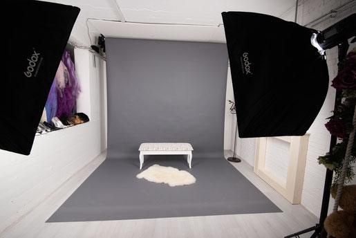 fotoapparatuur in de studio