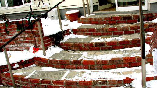レンガ・タイル階段滑り止めマット