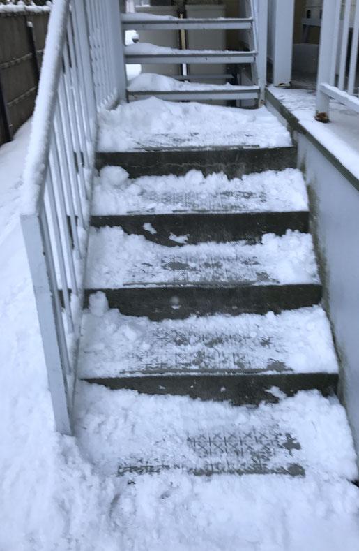 アパートマンションの階段滑り止めマット