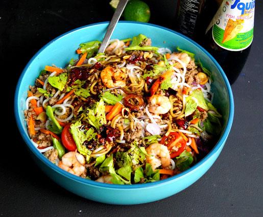 Glasnudelsalat nach thailändischem Rezept