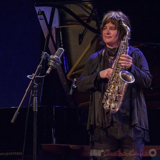 Géraldine Laurent et son quartet, Festival JAZZ360 2016, salle culturelle de Cénac