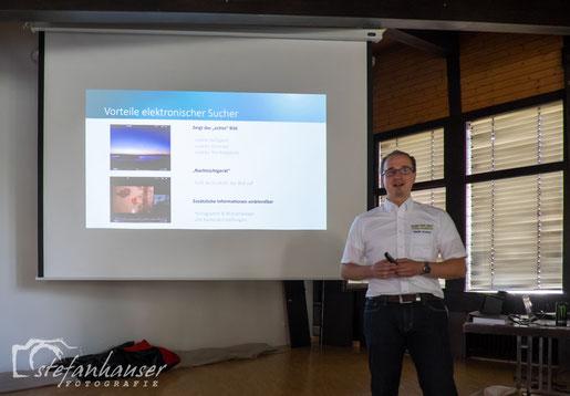 Sicheres und kompetentes Auftreten - Stefan Kunkel vom Fotomarkt Tübingen