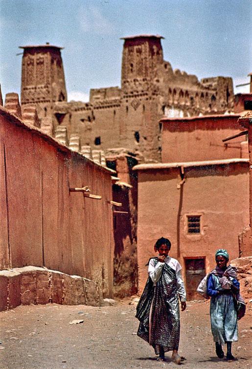 l'entrée nord de Boutharar