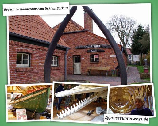 Besuch im Heimatmuseum Dykhus Borkum