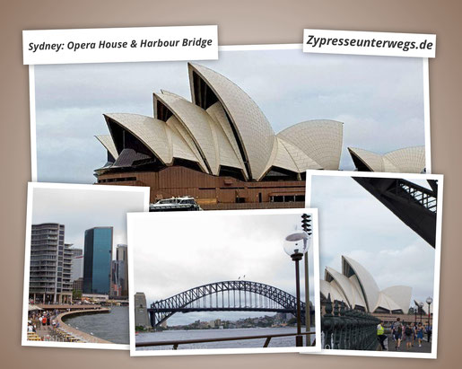 Sydney: Opera House & Harbour Bridge