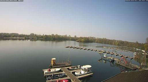 Screenshot Webcam Unterbacher See
