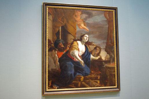Der Tod der Dido, Mattia Preti