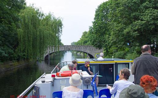 unterwegs auf dem Landwehrkanal