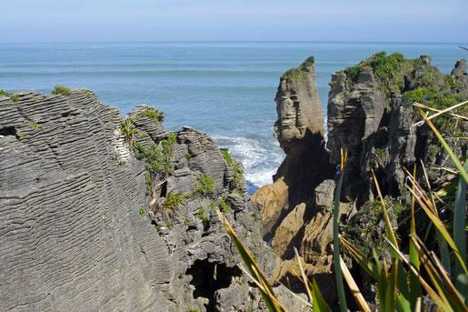 Pancake Rocks in Neuseeland