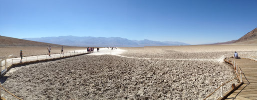Badwater Basin, Death Valley (Foto NP)