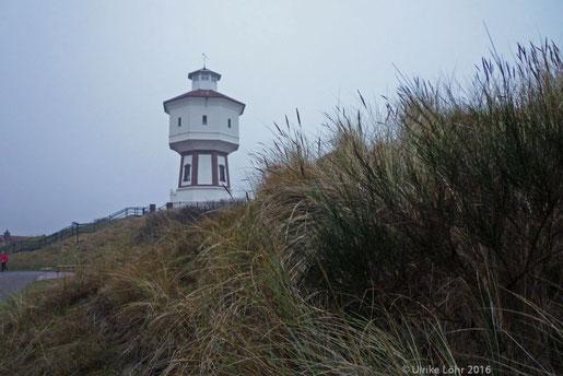 Das Wahrzeichen von Langeoog: der Wasserturm
