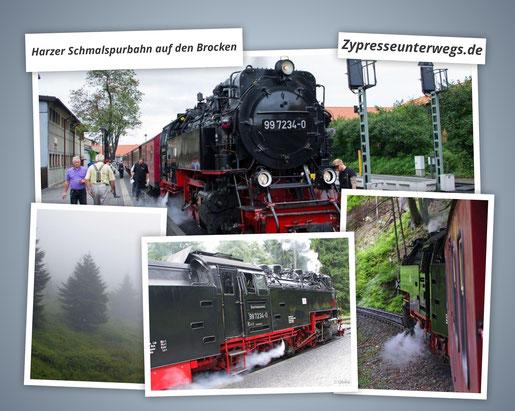 Mit der Harzer Schmalspurbahn auf den Brocken
