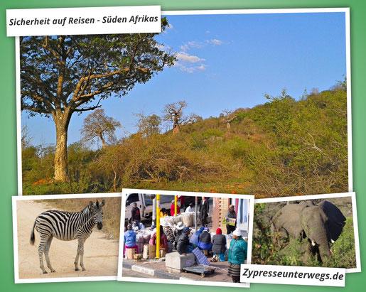 Sicherheit auf Reisen im Süden Afrikas