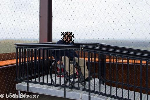 Aussichtsplattform für Rollstuhlfahrer