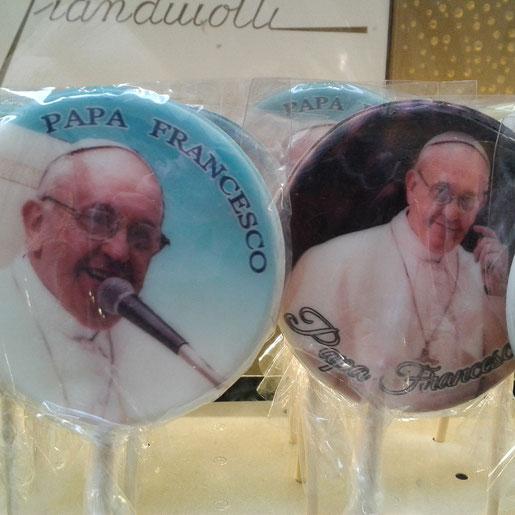was es alles so gibt: der Papst als Lolli