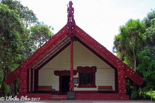 Te Whare Runanga -Versammlungshaus oder Marae