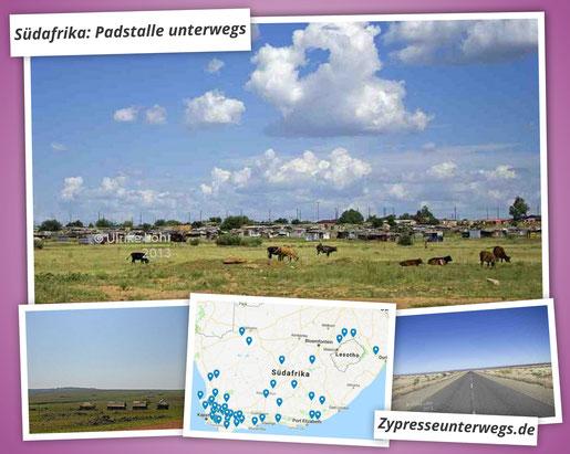Südafrika Roadtrip: Padstalle unterwegs