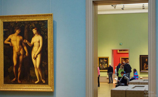 Gemäldegalerie des Herzog Anton Ulrich-Museums, links: Adam und Eva, Jacopo Palma il Vecchio