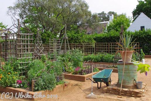 Babylonstorens Bauerngarten