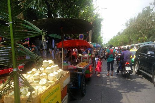 Chatuchak Markteingang