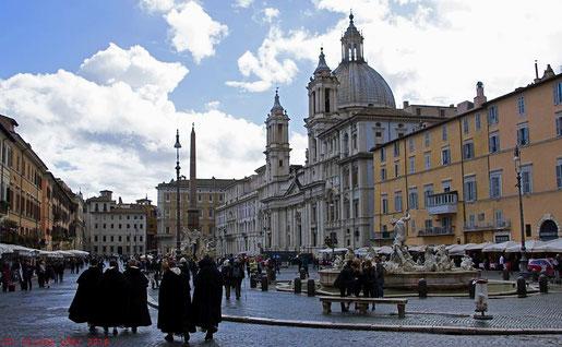 rund um die Piazza Navona in Rom