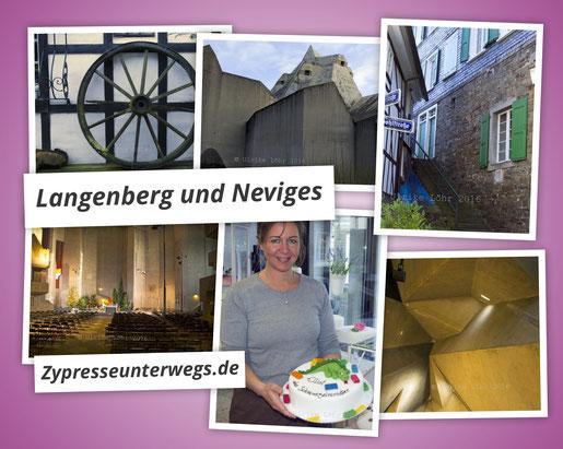 Ein Bummel durch's (fast) Mittelalter und moderne Architektur – Langenberg und Neviges