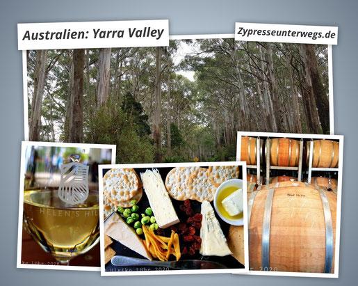 Wein im australischen Yarra Valley