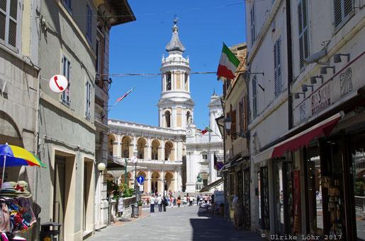 Loreto in den italienischen Marken