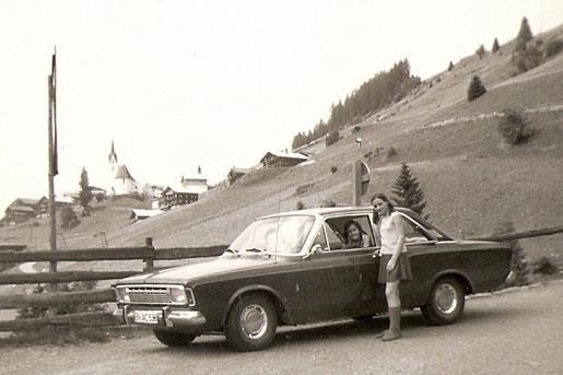 Im Defreggental (Osttirol, Österreich) 1969