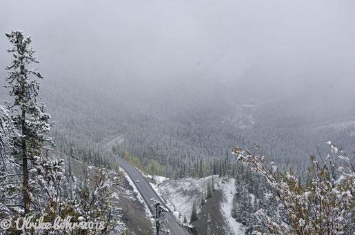 Kanada: Blick auf den Icefields Parkway
