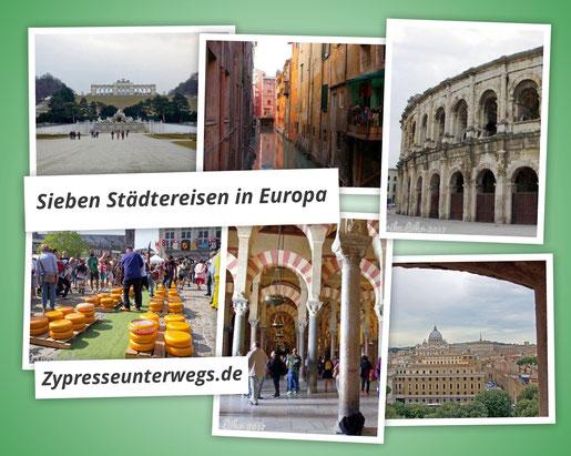 Meine liebsten 7 Städtereisen in Europa