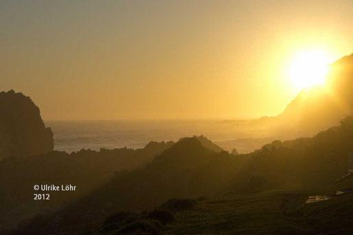 Sonnenuntergang an der Tsitsikamma Küste