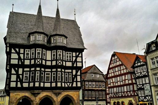 Fachwerkrathaus in Alsdorf